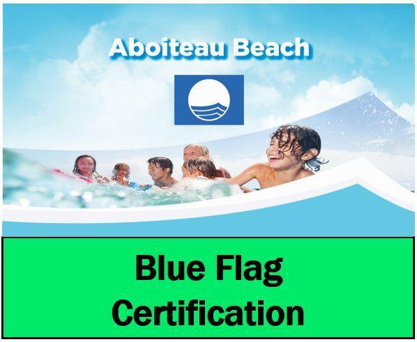 Video photo Blue Flag site web