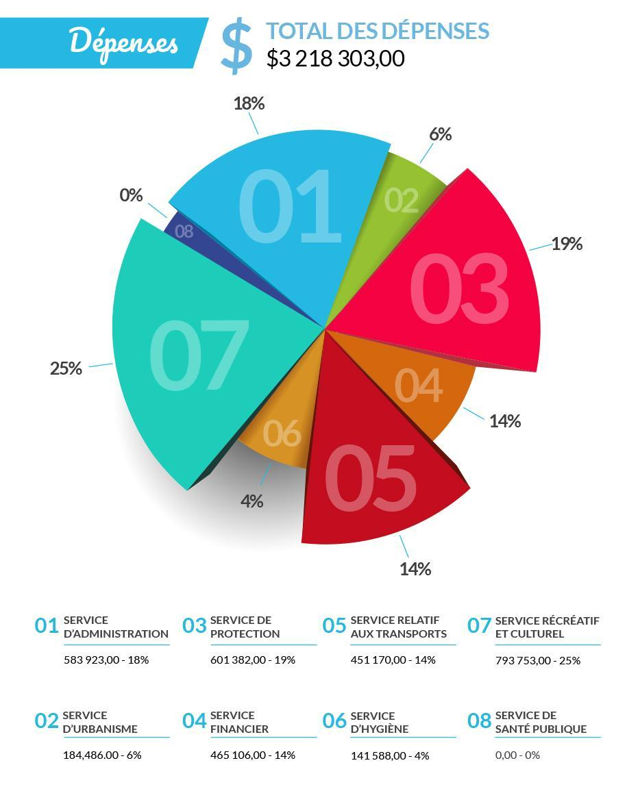 piechart depenses
